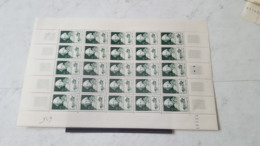 LOT 467210  TIMBRE DE FRANCE NEUF** LUXE N°828  FEUILLE - Full Sheets