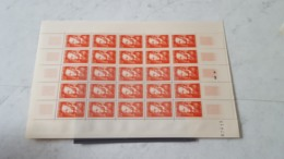 LOT 467217  TIMBRE DE FRANCE NEUF** LUXE N°880  FEUILLE - Full Sheets