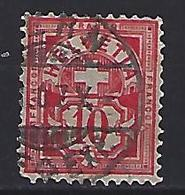 Switzerland 1906 Arms  Mi.85 - 1882-1906 Coat Of Arms, Standing Helvetia & UPU