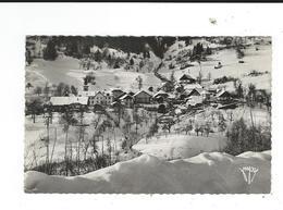 74 Le Bouchet Mont Charvin Vue Générale Hiver 86 Photo Mysse Faverges Circulé 1955 TBE - France