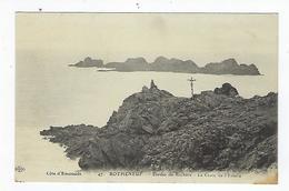 CPA 35 - Rotheneuf - Etudes De Rochers - La Croix De L'Ermite - Rotheneuf