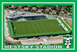 CARTE DE  STADE   . KARVINA  REPUBLIQUE TCHEQUE  MESTSKY STADION # CS. 139 - Football