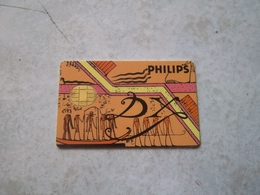 ANCIENNE CARTE A PUCE PHILIPS PEU COURANT !!! - France