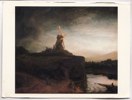 The Mill, Rembrandt Van Ryn, Used Postcard [23415] - Paintings