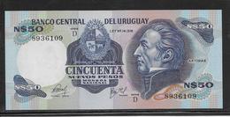 Uruguay - 50 Pesos - Pick N°61c - NEUF - Uruguay