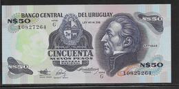 Uruguay - 50 Pesos - Pick N°61A - NEUF - Uruguay