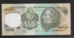 Uruguay - 100 Pesos - Pick N°62c - NEUF - Uruguay