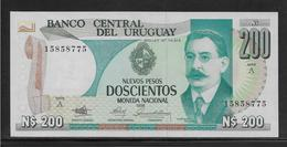 Uruguay - 200 Pesos - Pick N°66 - NEUF - Uruguay