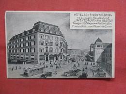 Hotel Continental Basel,  Switzerland > BL Basle-  -ref    3552 - BL Basle-Country