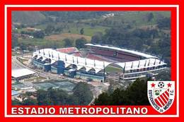 CARTE DE  STADE  . MERIDA  VENEZUELA   ESTADIO METROPOLITANO   # CS. 151 - Football