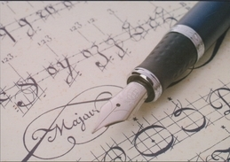 Grote Kaart Vulpen Fountain Pen Stylo A Plume - Cartes Postales