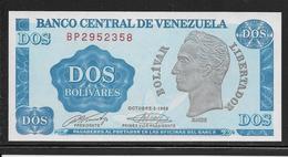Venezuela - 2 Bolivares - Pick N°69 - NEUF - Venezuela