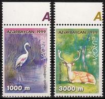 Aserbaidschan MiNr. 442/43 ** Europa: Natur- Und Nationalparks - Aserbaidschan