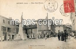 LOT 0430 ROYBON PLACE SAINT ROMME 1906 - Roybon