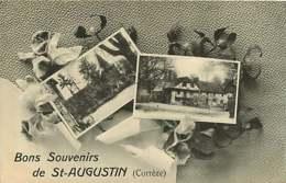 160819B - 19 Bons Souvenirs De ST AUGUSTIN - Multivues Iris - Autres Communes