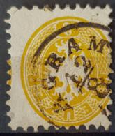 AUSTRIA - Canceled - ANK 30 - Nice AGRAM (Zagreb) Cancel! - Used Stamps