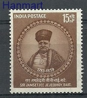 India 1959 Mi 308 MNH ( ZS8 IND308 ) - Célébrités