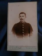 Photo CDV  Gaborit à Fontenay  Portrait Musicien Du 138e D'Infanterie - L456 - War, Military