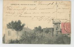 CANNES - Observatoire Du Grand Pin - Cannes