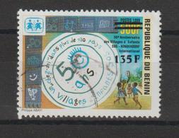 Benin Timbre Surchargé Oblit. Used - Benin – Dahomey (1960-...)