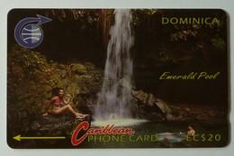 DOMINICA - GPT - 3CDMB - $20 - DOM-3B - Emerald Pool - Mint - Dominica
