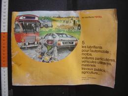 1978 Catalogue Huile Lubrifiant TOTAL Garage Loft Industrie Industriel AUTOMOBILE - Bricolage / Technique