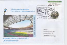 Germany Cover 2016 UEFA European Championship Football In France - Frankfurt Am Main Europameister - UEFA European Championship