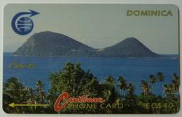 DOMINICA - GPT - 3CDMC - $40 - DOM-3C - Cabrits - 2000ex - Mint - Dominica