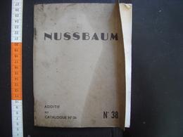 1959 Catalogue Robinet NUSSBAUM ROBINETTERIE Strasbourg Loft Industrie Industriel - Bricolage / Technique