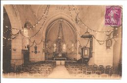 37 St.Martin Le Beau. Intérieur De L'église. La Nefs - Andere Gemeenten