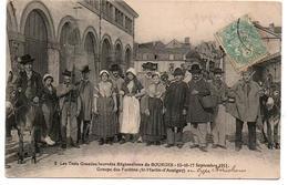 BOURGES LES 3 JOURNEES REGIONALISTES DE SPTEMBRE 1911 TRES ANIMEE - Bourges