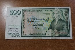 Iceland 100 Krone 1961 - Island