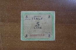 Italy 5 Lire 1943 - [ 1] …-1946 : Regno