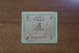 Italy 5 Lire 1943 - [ 1] …-1946 : Kingdom