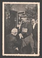 L'Abbé Louis Mertens Accueille S. E. Mgr. Rutten, Evêque De Liège - 1946 - Personnages Historiques