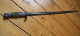 """Baïonnette Allemande S98 """"langue De Carpe"""" De 14/18 (2) (PRIX DE DEPART EN BAISSE) - Armes Blanches"""