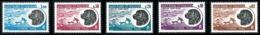 ST-PIERRE ET MIQUELON 1973 - Yv. Taxe 77 78 79 80 81 ** SUP  Cote= 28,00 EUR - Chien Terre-Neuve (5 Val)  ..Réf.SPM11530 - Timbres-taxe