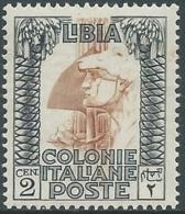1924-29 LIBIA PITTORICA 2 CENT MNH ** - RA31-3 - Libyen
