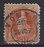 Switzerland 1882 Helvita  Mi.58 - 1882-1906 Coat Of Arms, Standing Helvetia & UPU
