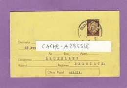 1947-1957.ENTIER POSTAL DE CLUJ POUR BRUXELLES. - Interi Postali