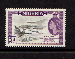 NIGERIA    1958    Centenary  Of  Victoria    MH - Nigeria (...-1960)