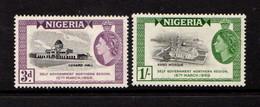 NIGERIA    1959    Self  Government    Set  Of  2    MH - Nigeria (...-1960)