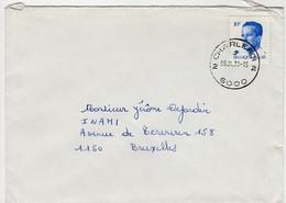 Poststempel  CHARLEROI 2 J 2  6000 - Marcofilia