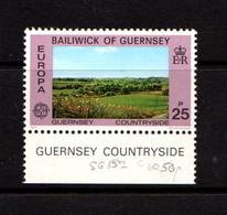 GUERNSEY    1977    25p  Pastureland    MNH - Guernsey