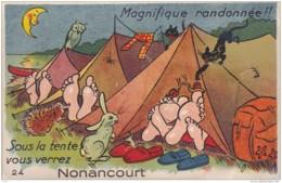 EURE NONANCOURT CARTE SYSTEME - Autres Communes