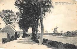 Windmolen Molen Windmill Moulin à Vent  Brauwershaven Gezicht Op De Molen Zeeland      L 548 - Windmolens