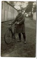 Carte Photo - Carabinier Cycliste - 2 Scans - Autres
