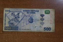 Congo 500 Francs - Repubblica Del Congo (Congo-Brazzaville)