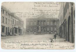 Saint-Hubert - La Place De L'Hôtel De Ville - D.V.D. 8527 - Edit. A. Oudart - 1903 - Saint-Hubert