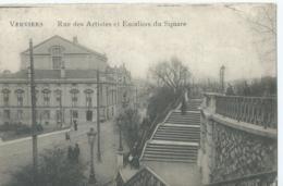 Verviers - Rue Des Artistes Et Escaliers Du Square - Emile Dumont, éditeur - Verviers